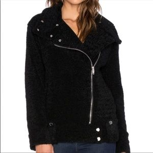 Blank NYC Black Bear Jacket Moto